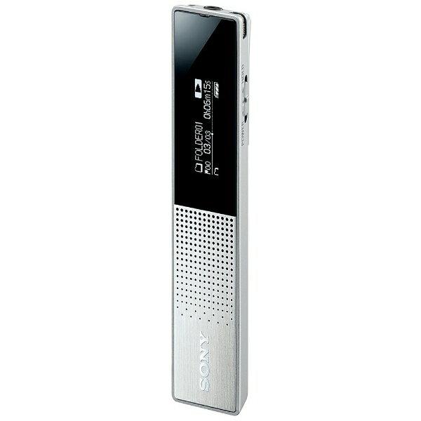 【送料無料】 ソニー SONY リニアPCMレコーダー【16GB】(シルバー) ICD-TX650SC[ICDTX650SC]