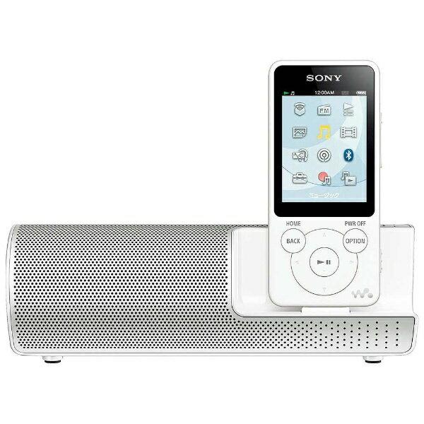 【送料無料】 ソニー デジタルオーディオプレーヤー WALKMAN S10シリーズ(ホワイト/8GB) NW-S14K WM 【ワイドFM対応】[NWS14KWM]
