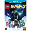 【あす楽対象】 ワーナーホームビデオ LEGO(R) バットマン3 ザ・ゲーム ゴッサムから宇宙へ【Wii Uゲームソフト】