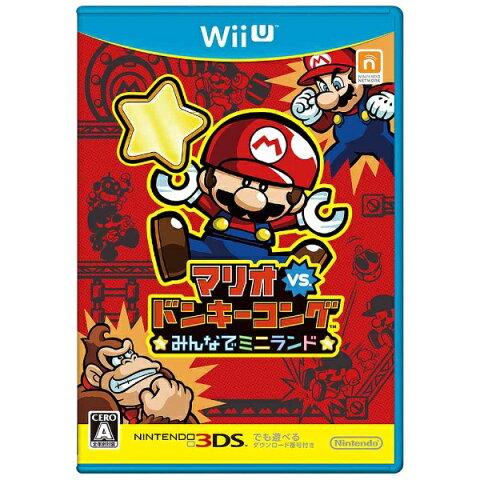 任天堂 マリオvs.ドンキーコング みんなでミニランド【Wii Uゲームソフト】