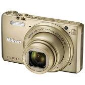 【送料無料】 ニコン コンパクトデジタルカメラ COOLPIX(クールピクス) S7000(ゴールド)[S7000GL]