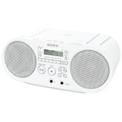 【送料無料】ソニーCDラジオ(ホワイト)ZS-S40WC[ZSS40WC]