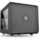 【送料無料】 THERMALTAKE Micro ATX/Mini ITX対応キューブ型PCケース Core V21 (電源なし・ブラック) CA-1D5-00S1WN-00[CA1D500S1WN00]