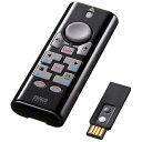 【送料無料】 サンワサプライ 【iPad/iPhone対応】ワイヤレスプレゼンテーションマウス[Bluetooth4.0/2.4GHz・USB・iOS/Mac/Win] 赤色レーザー (10ボタン・ブラック) MA-WPR10BK[MAWPR10BK]