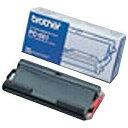 【あす楽対象】 ブラザー カセット付き普通紙FAX用インクフィルム PC-551(42m×1本入り)[PC551]