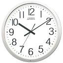 【送料無料】 リズム時計 電波掛け時計 「パルウェーブ」 4MY603-B19[4MY603B19] 【メーカー直送・代金引換不可・時間指定・返品不可】
