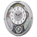 リズム時計 RHYTHM 電波からくり時計 「スモールワールドビスト」 4MN537RH04[4MN537RH04]