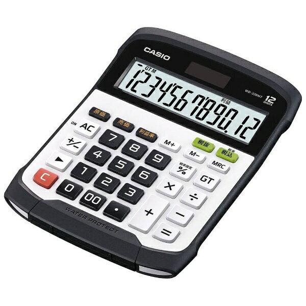 カシオ 防水防塵電卓 WD-320MT-N[WD320MTN]