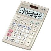 【送料無料】 カシオ 本格実務電卓 (12桁) JS-20WK-GD[JS20WKGD]