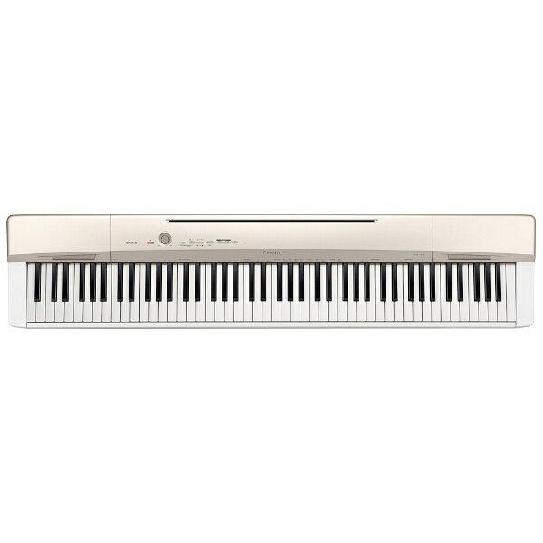 【送料無料】 カシオ ステージピアノ Privia(プリヴィア)(88鍵盤/ゴールド) PX-160GD[PX160GD]