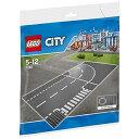 【あす楽対象】 レゴジャパン LEGO(レゴ) 7281 シティ ロードプレート T字路+カーブ(2枚入り)