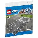 レゴジャパン LEGO(レゴ) 7280 シティ ロードプレート 直線+交差点(2枚入り)