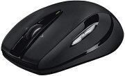 ロジクール ワイヤレス光学式マウス[2.4GHz USB・Win] M546 (7ボタン・ダークナイト) M546BD