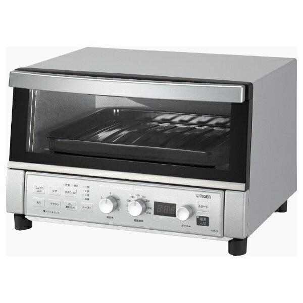 【送料無料】 タイガー コンベクションオーブン&トースター 「やきたて」 KAS-G130-SN シルバー[KASG130SN]