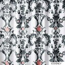 【送料無料】 スミノエ ドレープカーテン ミッキー/デコレート(100×200cm/ブラック)【日本製】[M1123100X200]