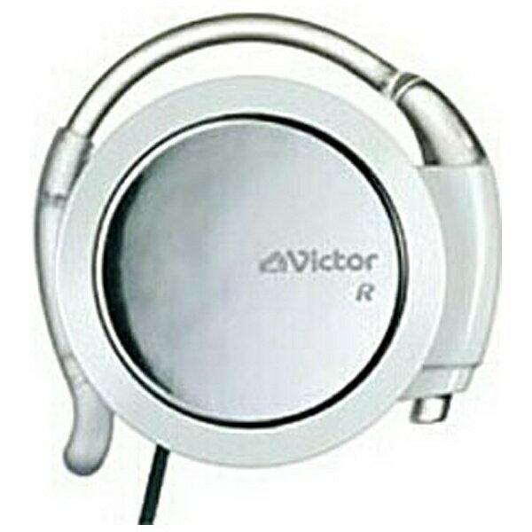 JVC 耳かけ型イヤホン (ホワイト) HP-AL302-W[HPAL302W]