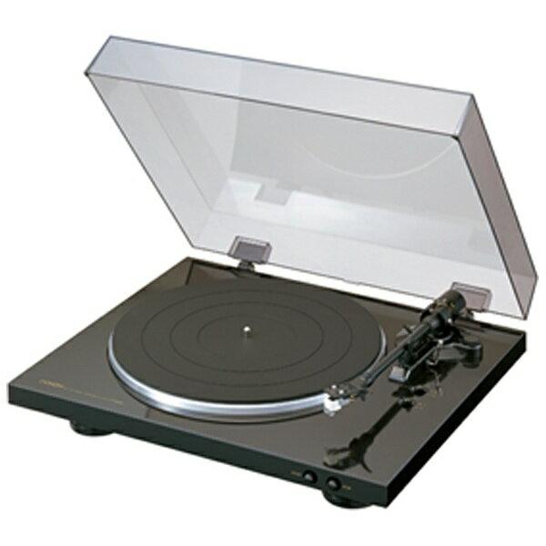 【送料無料】 デノン レコードプレーヤー(ブラック) DP-300F[DP300FK]