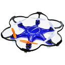 【送料無料】 童友社 2.4GHz 6枚羽根マルチコプター ドローン6 (ブルー) MODE2の画像
