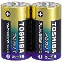 東芝 【単1形】2本 アルカリ乾電池 「アルカリ1」LR20AG 2KP[LR20AG2KP]