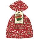 ドットコム 【おもちゃ】クリスマスラッピング袋