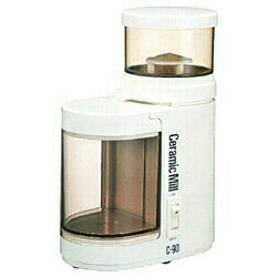 【送料無料】 カリタ 電動コーヒーミル 「セラミックミル」(アイボリー) C-90[C90]