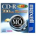 日立マクセル 48倍速対応 データ用CD-Rメディア (700MB・1枚)   CDR700S.1P[CDR700S1P]
