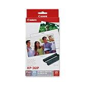 キヤノン カラーインク/ペーパーセット (ポストカード・36枚分) KP-36IP[KP36IP]