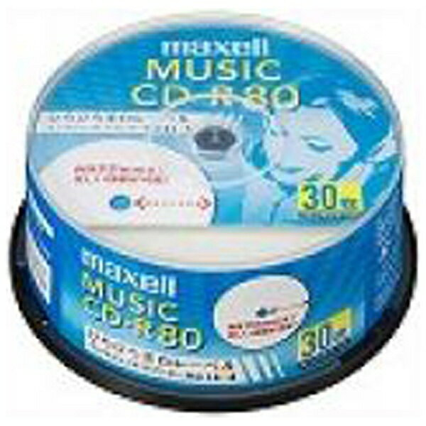 マクセル Maxell CDRA80WP.30S...の商品画像