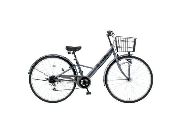 【送料無料】 タマコシ 27型 自転車 LAボルテージ276HD(シルバー/6段変速)【組立商品につき返品】 【配送】