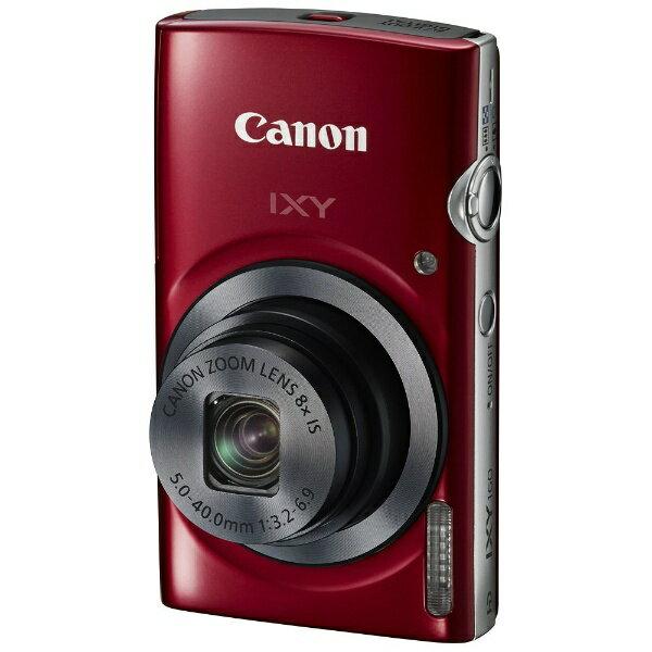 【あす楽対象】【送料無料】 キヤノン コンパクトデジタルカメラ IXY(イクシー) 160(レッド)[生産完了品 在庫限り][IXY160RE]