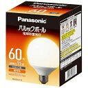 パナソニック EFG15EL11E 電球形蛍光灯 「パルックボール」(電球60WタイプG形・電球色・口金E26)  EFG15EL11E
