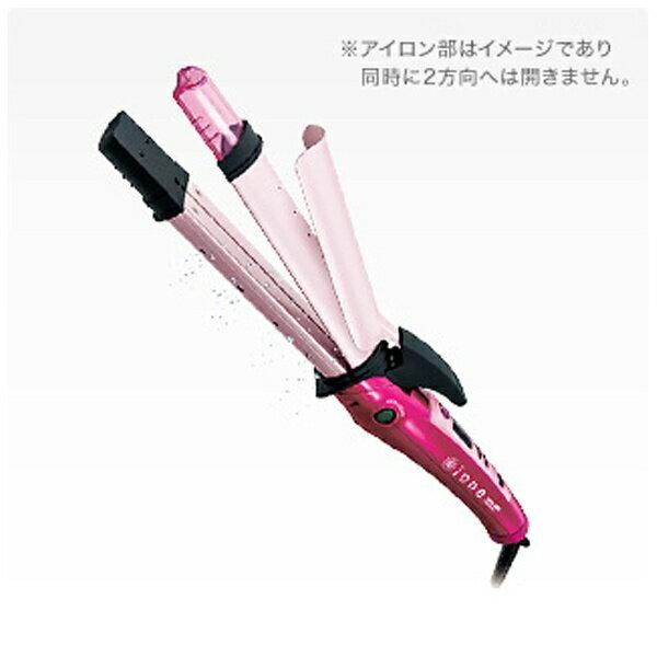 テスコム マイナスイオン2WAYスチームヘアアイロン 「ione」(32mm) IPW1632P ピンク
