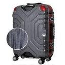 エスケープ ESCAPE スーツケース 148L ヘアラインBK/RD B5225T-82 [TSAロック搭載]