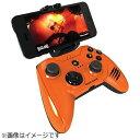 【送料無料】 マッドキャッツ 【iPad/iPhone対応】ワイヤレスゲームパッド[Bluetooth・iOS] Micro C.T.R.L.i Mobile Game pad オレンジ MFi認証 MC-MCTRLI-ORZ[MCMCTRLIORZ]