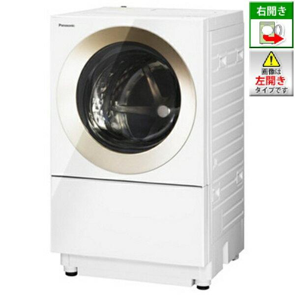【標準設置費込み】 パナソニック NA-VS1000R-N [右開き] ドラム式洗濯機 (洗濯10.0kg) 「キューブル」 NA-VS1000R-N ノーブルシャンパン[NAVS1000RN]