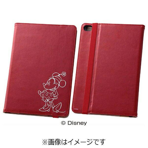 レイアウト iPad mini 4用 ホットスタンプ・ブックレザーケース 合皮 ディズニー・ミニー RT-DPM3I/MN[RTDPM3IMN]
