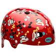 【送料無料】 BELL 子供用ヘルメット SEGMENT Jr (レッドポールフランクペイントボール/48〜53cm)