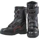 おたふく手袋 安全シューズ半長靴マジックタイプ 25.0 JW775250