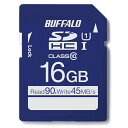BUFFALO 16GB・UHS-I Class1(Class10)対応SDカード RSDC-016GU1H[RSDC016GU1H]
