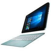 【あす楽対象】【送料無料】 ASUS 10.1型ワイドノートPC TransBook T100HA[Win10・Office付き] T100HA-BLUE (2015年最新モデル・アクアブルー)[T100HABLUE]