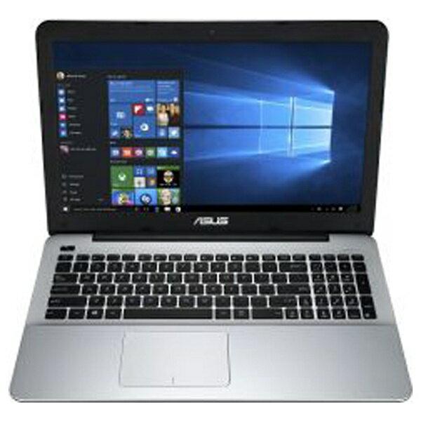【送料無料】 ASUS 15.6型ワイドノートPC X555UA[Win10] X555UA-6500F (2015年最新モデル・ブラック)[X555UA6500F]