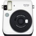 【送料無料】 フジフイルム インスタントカメラ instax mini 70 『チェキ』 ホワイト