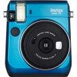 【送料無料】 フジフイルム インスタントカメラ instax mini 70 『チェキ』 ブルー