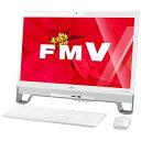 【送料無料】 富士通 23型デスクトップPC[Win10 Home・Celeron・HDD 1TB・メモリ 4GB] FMV ESPRIMO FHシリーズ FH52/W スノーホワイト FMVF52WW (2015年10月モデル)