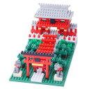 カワダ ナノブロック NBH-108 稲荷神社