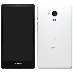 [LTE対応]SIMフリー Android 5.0スマートフォン「SH-M02 ホワイト」 5.0型(ストレージ/メモリ:16GB/2GB) SH-M02