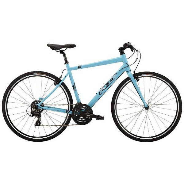 【送料無料】 FELT 700×32C型 クロスバイク VERZA SPEED 50(マットグレイシアブルー/480サイズ《適応身長:160cm以上》)9464574 【2016年モデル】【組立商品につき返品】 【配送】 【たっとい】