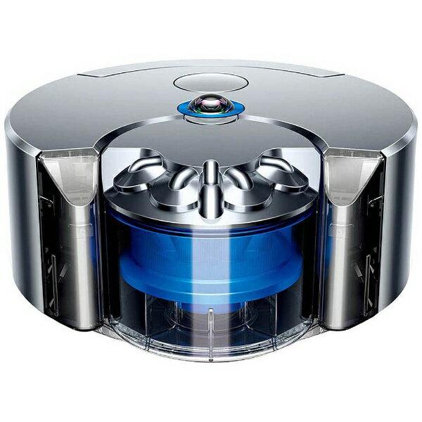 【送料無料】 ダイソン ロボット掃除機 「Dyson 360 eye」 RB01 ニッケル/ブルー[RB01NB]