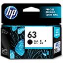 HP 【純正】 HP 63 インクカートリッジ (黒) F6U62AA