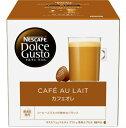 【あす楽対象】 ネスレ日本 ドルチェグスト専用カプセル 「カフェオレ」(16杯分) CAL16001